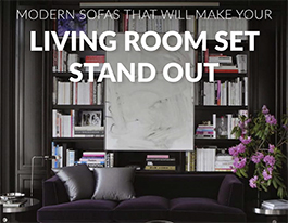 Modern Sofas That Will Make Your Living Room Set Stand Out